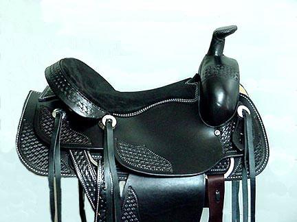 Draft Horse Western Saddle