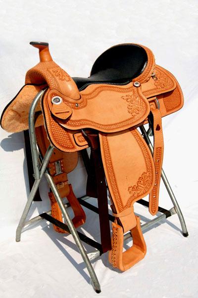 Draft Horse Western Show Saddle