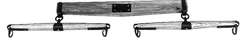 Steel or Wood Evener / Double tree - 2 Horse, 3Horse and 4 Horse