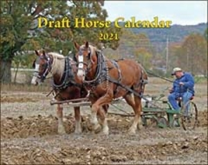 2021 Draft Horse Calendar