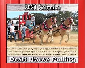 2021 Draft Horse Pulling Calendar
